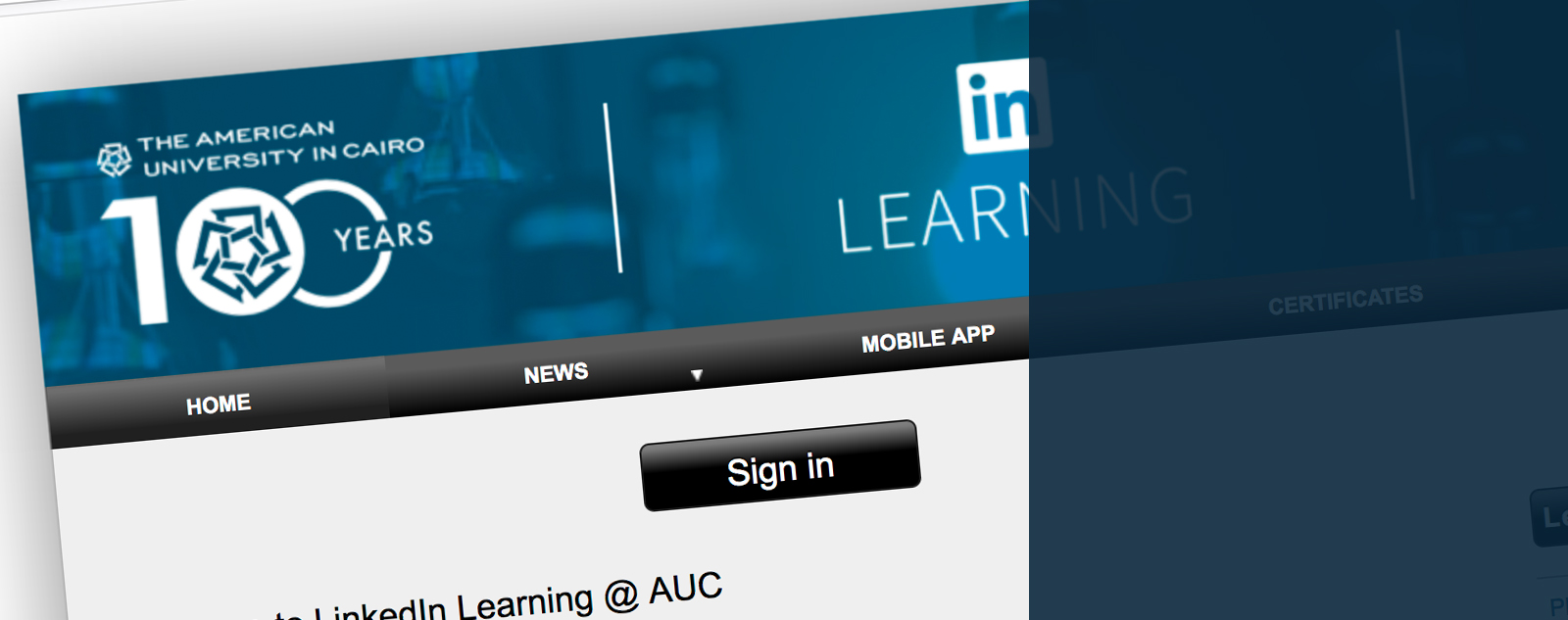LinkedIn Learning Banner
